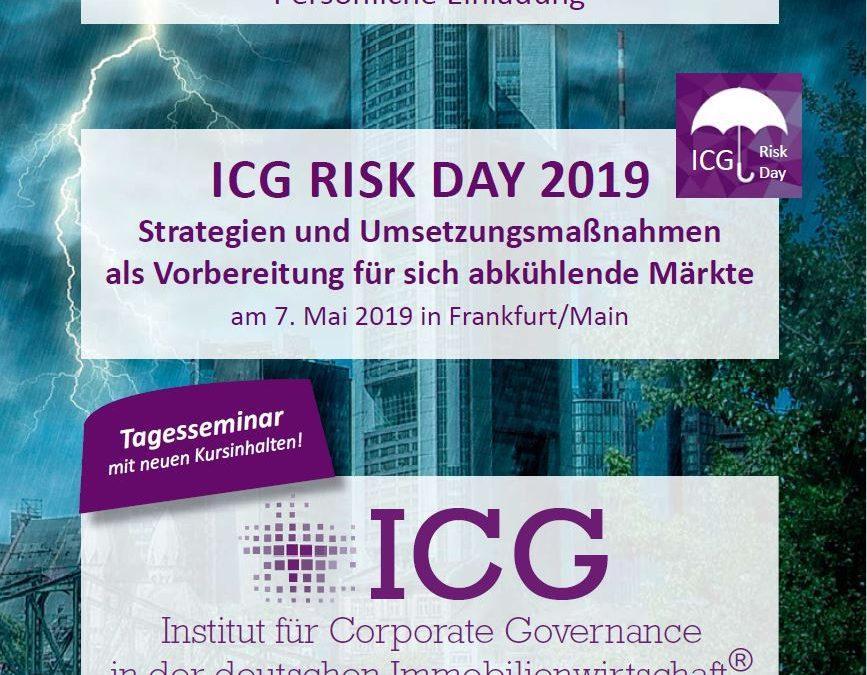ICG RISK DAY 2019 – Krisenbewältigung in der Immobilienwirtschaft